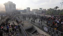العراق يعلن حصيلة ضحايا التظاهرات الاحتجاجية