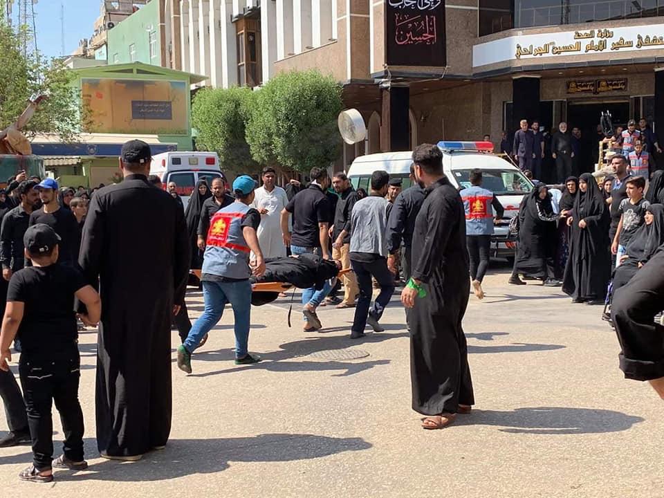 السطات والعتبة في كربلاء تصدران توضيحا بشأن حدوث اختناق بين نساء زائرات