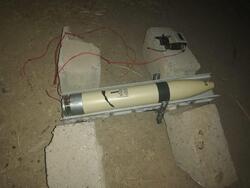 سقوط صاروخ وضبط اخر في بغداد