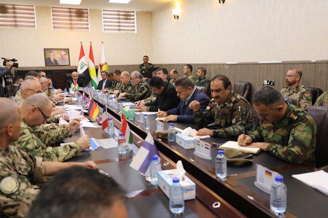البيشمركة والتحالف الدولي يتحدثان عن تنامي تحركات داعش في المتنازع عليها