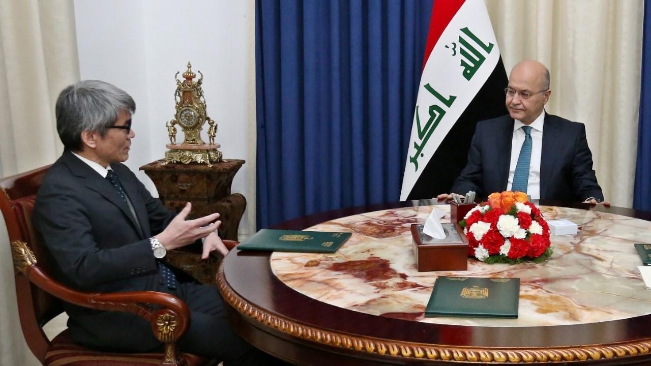 """العراق واليابان يؤكدان على أمر لتجاوز """"التحديات"""" الحالية"""