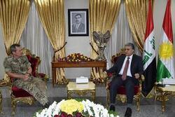 وزير داخلية كوردستان يبحث مع التحالف الدولي امن مناطق النزاع
