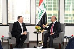 صالح وبومبيو يشددان على استقرار المنطقة وإعلاء لغة الحوار والتهدئة