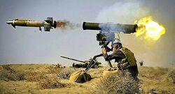 """صاروخا """"كورنيت"""" يدمران عجلتين لداعش في صلاح الدين"""