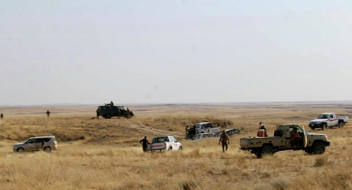 قائد عسكري يكشف نتائج عمليات ضد داعش استمرت يومين بمحيط متنازع عليها