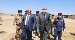 وزير الداخلية يصل الى محافظة شهدت هجمات لداعش مؤخرا