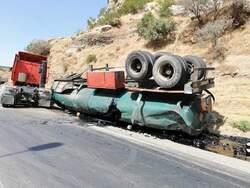 حادث يتسبب بقطع الطريق الرئيس بين اربيل – السليمانية