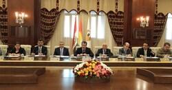 مجلس وزراء كوردستان يتخذ عدة قرارات منها تخص زيارة بغداد والتعداد السكاني