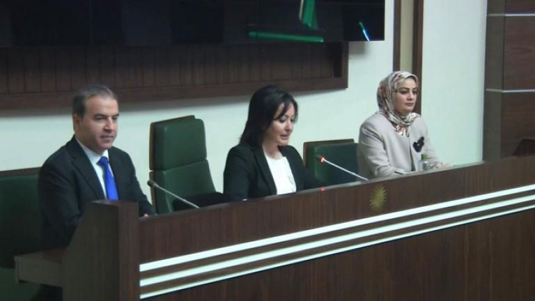 برلمان كوردستان يصدر توضيحا عن منع سكرتيرته من السفر الى تركيا