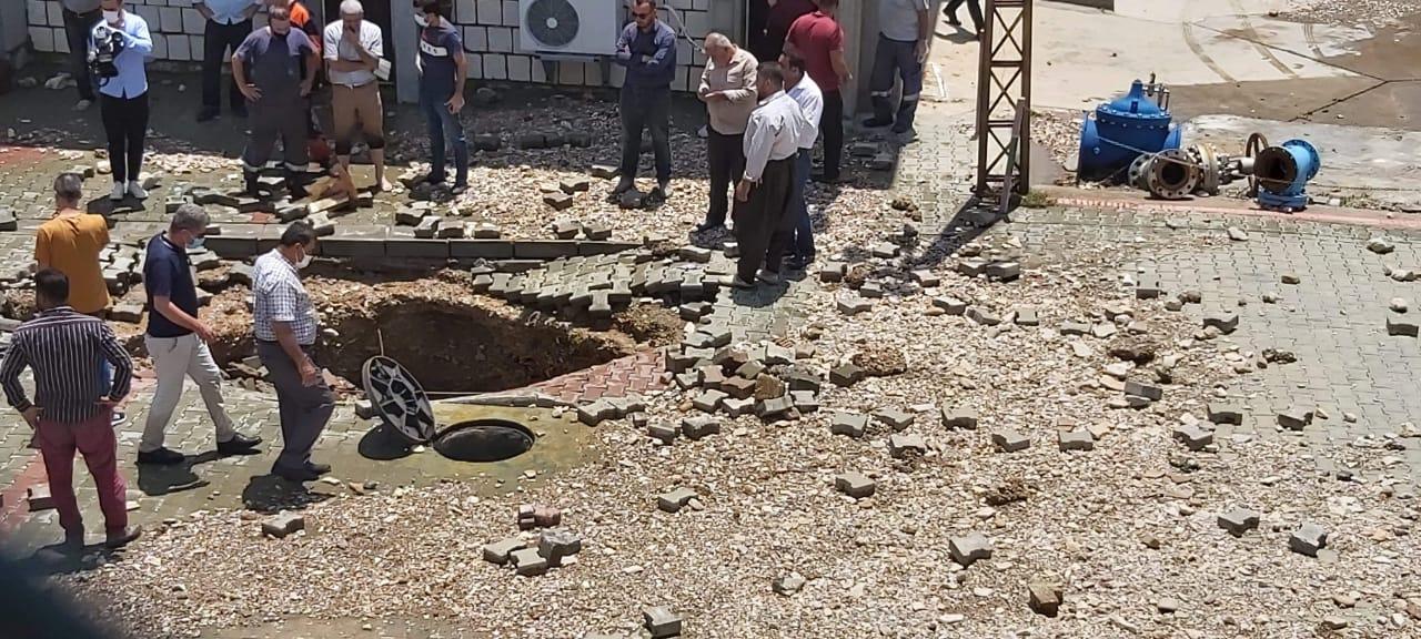 مدينة السليمانية بلا ماء للشرب لمدة اسبوع
