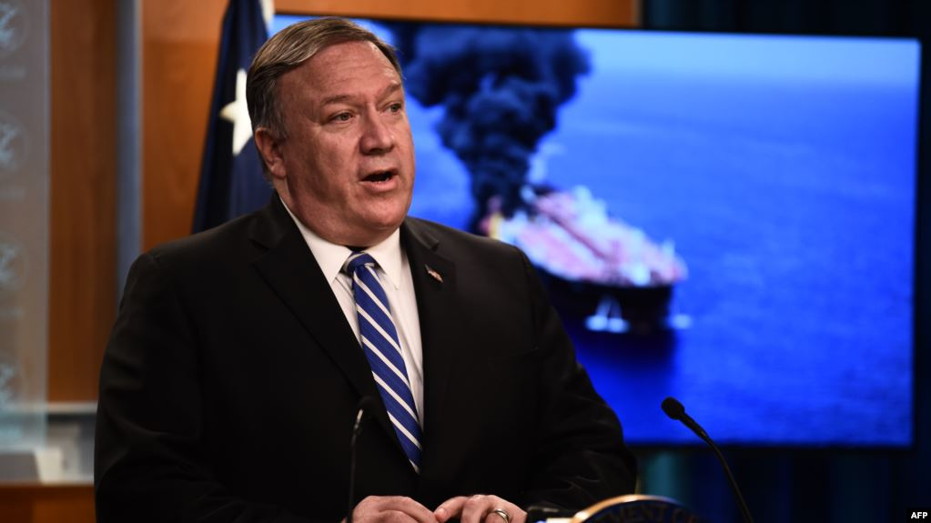 "Pompeo accuses Khamenei of ""sacrificing"" Iran's youth in three countries, including Iraq"