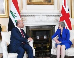 العراق يدعو بريطانيا للعب دور بتخفيف التوتر في المنطقة