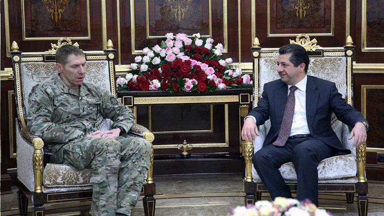 التحالف الدولي ومسرور بارزاني يبحثان مخاطر داعش على العراق وسوريا