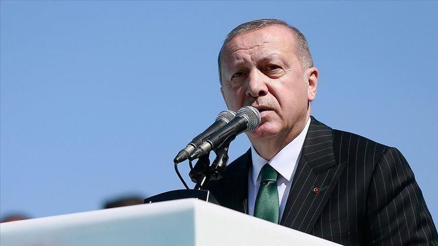 اردوغان: عدد كبير من افراد اسرة البغدادي بقبضتنا وسنبقى في سوريا وشمال العراق