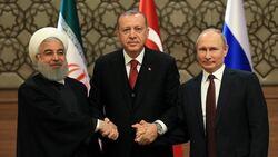 روسيا وتركيا وايران تعلن موقفا من وحدة سوريا والعقوبات عليها