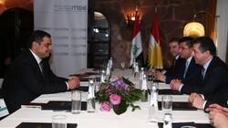 مسرور بارزاني لوزير الدفاع العراقي: نؤيد تشكيل الحكومة وفق مبدأين