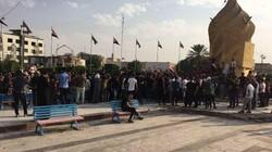 مسلحون يرشقون متظاهرين بالرصاص الحي في كربلاء