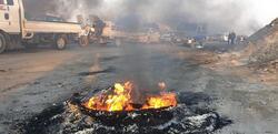 احتجاجا على  ترشيح العيداني .. محتجون يقطعون طريق ميناءين جنوبي العراق