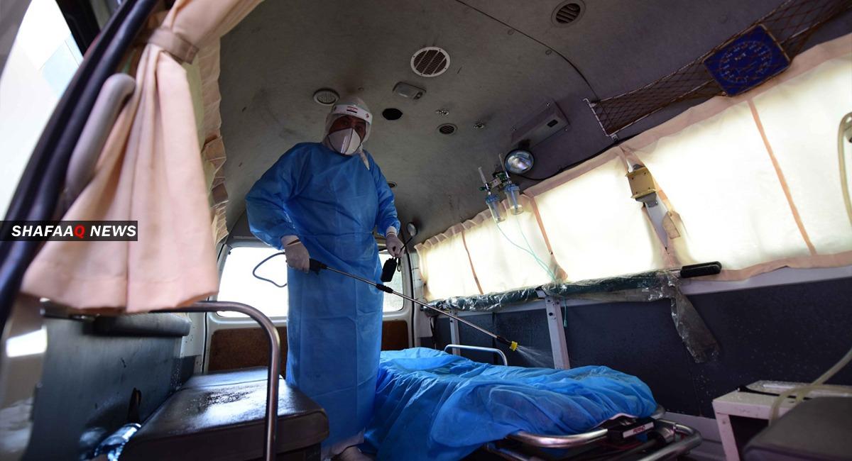 ٨٦ إصابة جديدة بفيروس كورونا في اقليم كوردستان