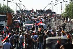 5 demonstrators killed in Baghdad