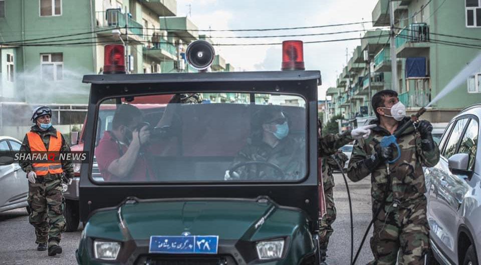 كوردستان تعلن 18 إصابة بكورونا خلال 24 ساعة