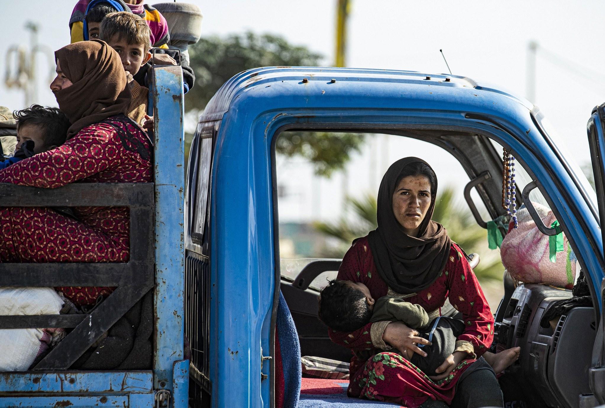 كوردستان تعلن احصائية جديدة للاجئين السوريين الى الاقليم تفوق 3000 شخص
