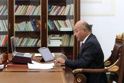 """صالح يبدي استغرابه من """"التشنج"""" بين أربيل وبغداد قُبيل اتفاق وشيك"""