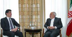 ظريف من بغداد: سأزور أربيل للقاء رئيس اقليم كوردستان