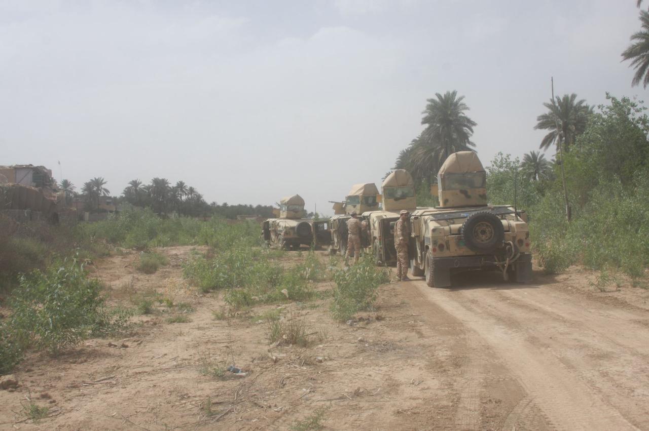 Army elements injured by a roadside bomb northeastern Diyala