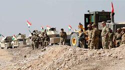 قوة كوردية خاصة تجري مناورة عسكرية قرب مطار اربيل وتطمئن الاهالي