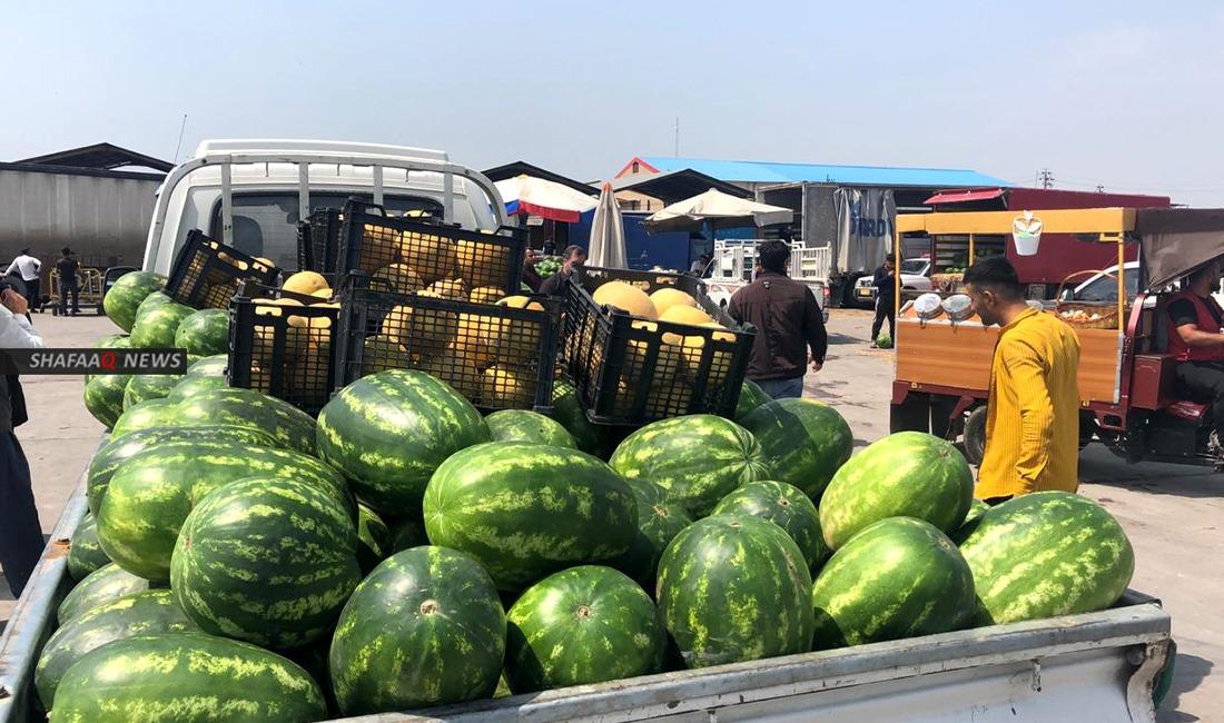 علوات الخضار والفاكهة في كوردستان تغلق ابوابها اول ايام عيد الفطر