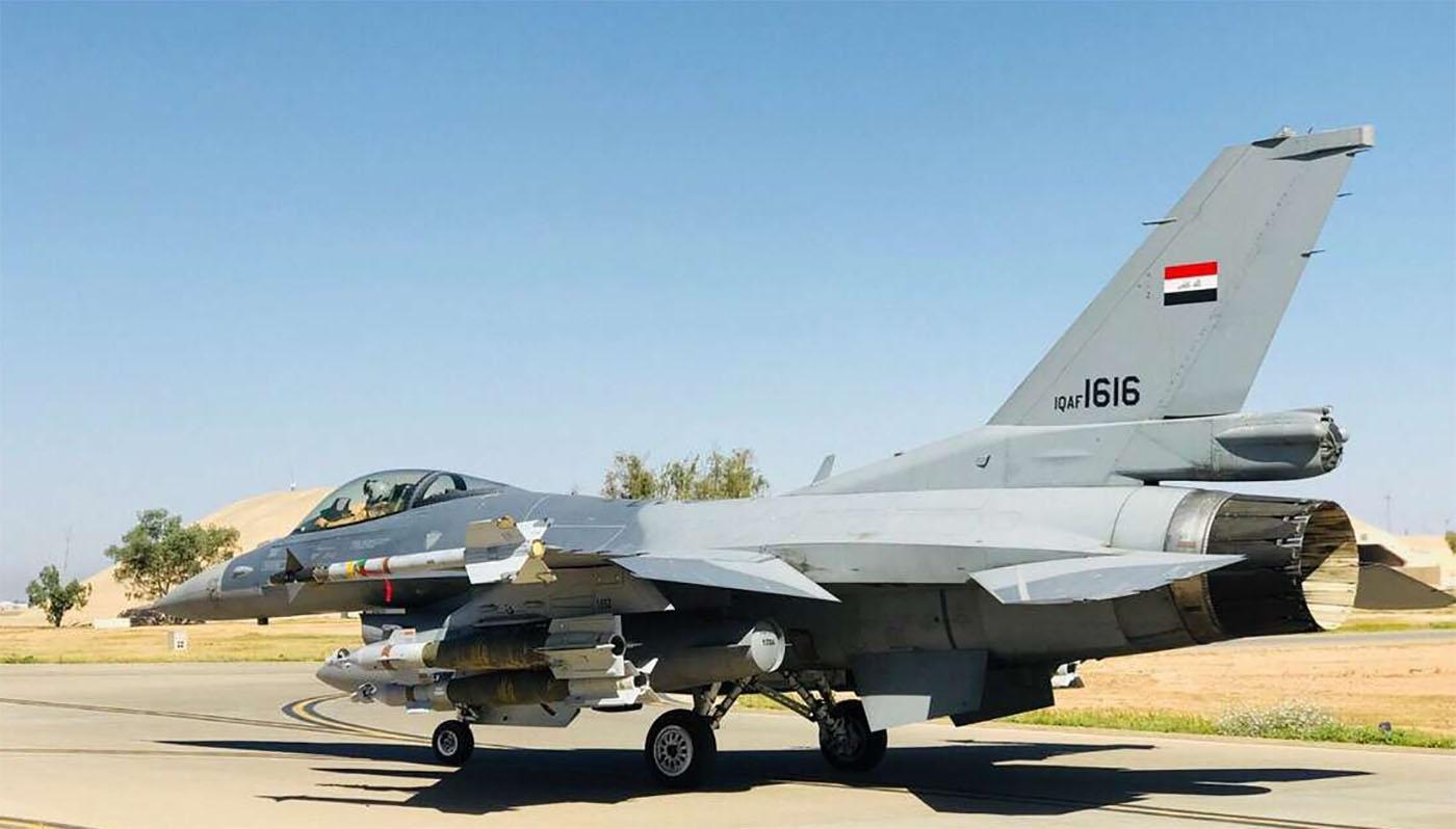 """""""طائرات الـ""""اف 16"""" العراقية في خطر"""""""