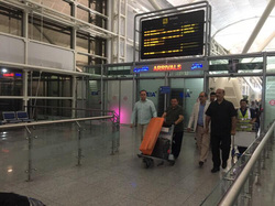وصول وفد من نادي ريال مدريد الاسباني الى عاصمة اقليم كوردستان