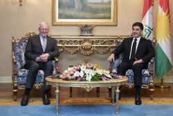 المبعوث الامريكي لسوريا يعقد مباحثات مع رئيس اقليم كوردستان