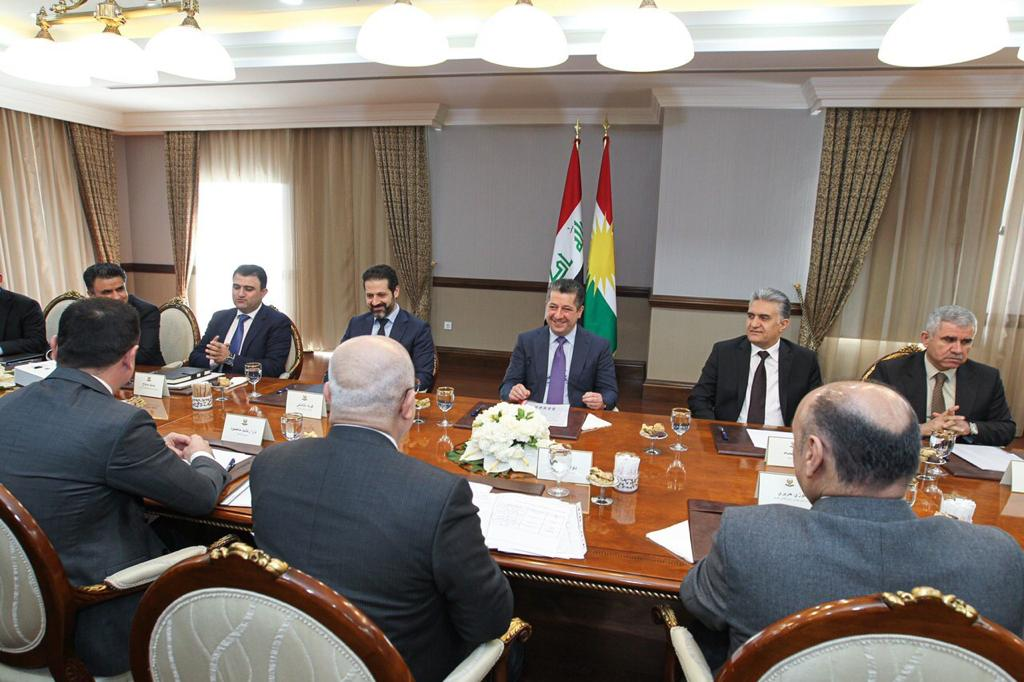 Barzani: Corona's outbreak is not only a health problem, but also has economic implications