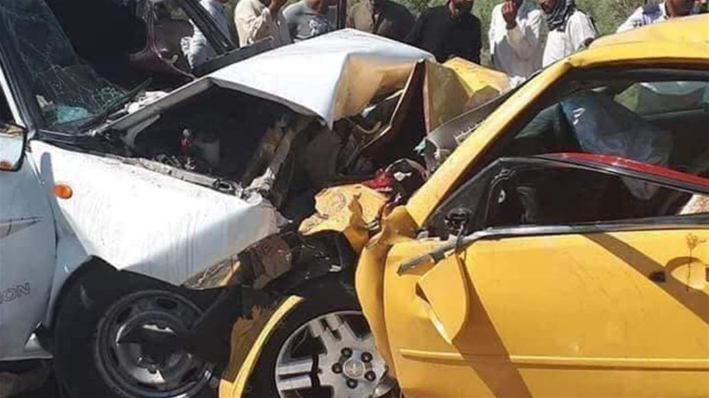 وفاة واصابة تسعة اشخاص من أسرة واحدة بحادث مروع جنوبي العراق