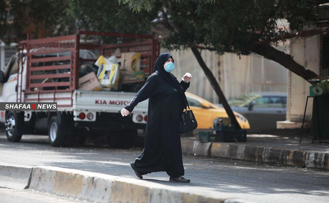 العراق يسجل قفزة بإصابات كورونا ب٣٢٢ حالة واربع وفيات