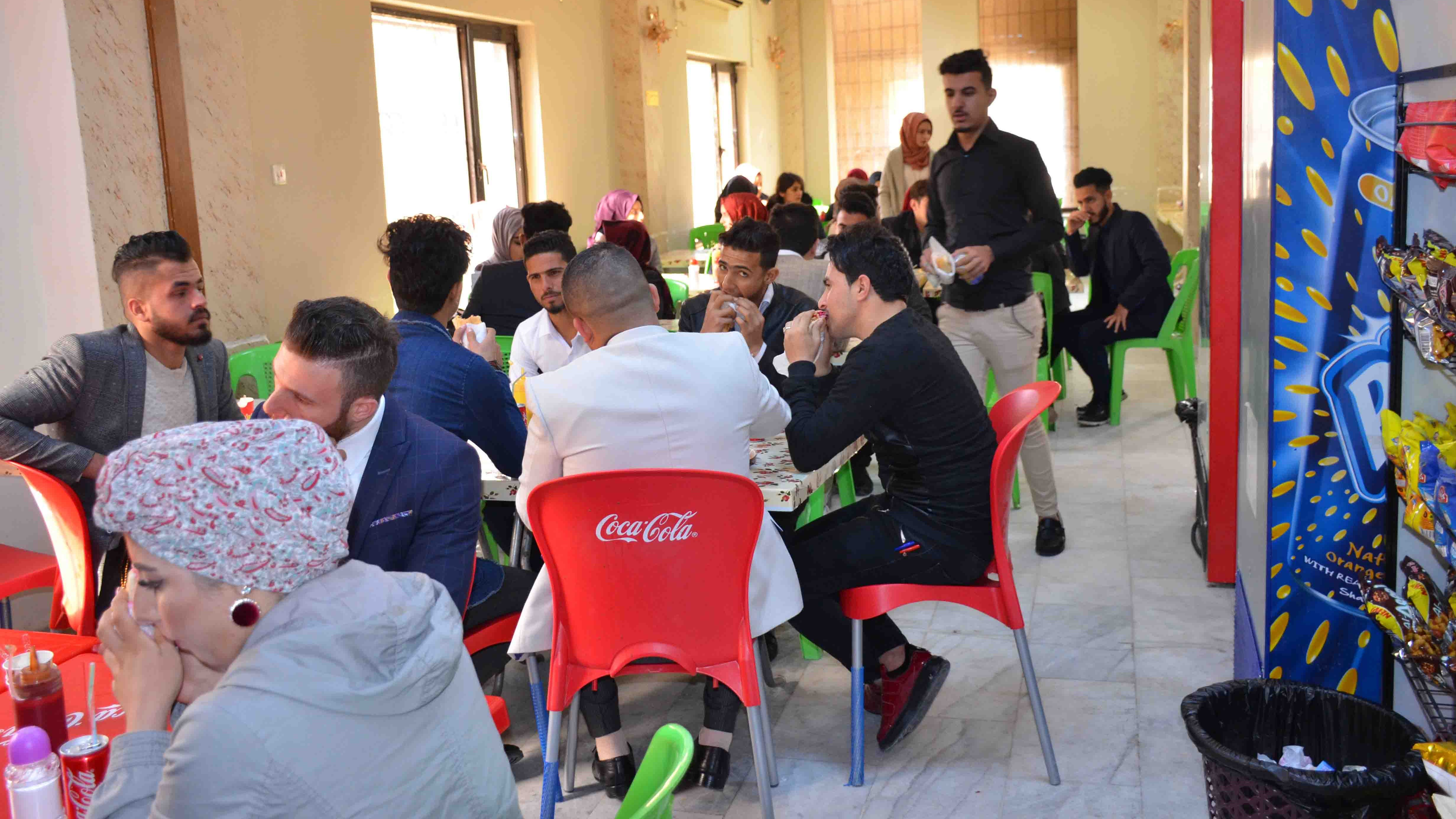 An Iraqi governorate closes cafes and crowded places