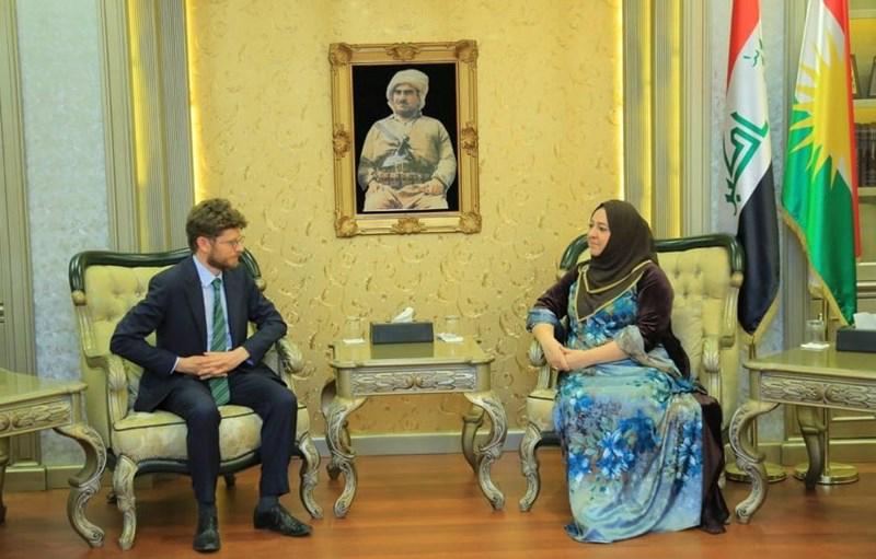 فرنسا تبدي استعدادها لدعم كوردستان بعدة مجالات