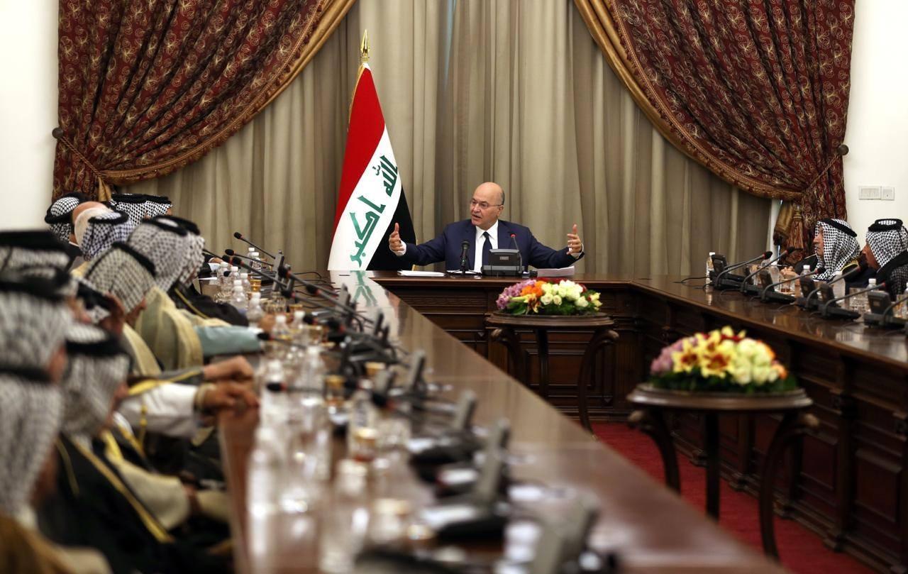 الرئيس العراقي يعلن مؤتمراً وطنياً لإعادة النظر بالدستور وفقراته