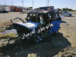 وفاة واصابة اشخاص بحادث انقلاب عجلة في منطقة بإقليم كوردستان
