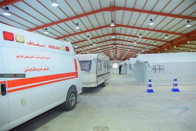 صحة اقليم كوردستان تسجل 3 اصابات جديدة بكورونا لوافدين من هنغاريا