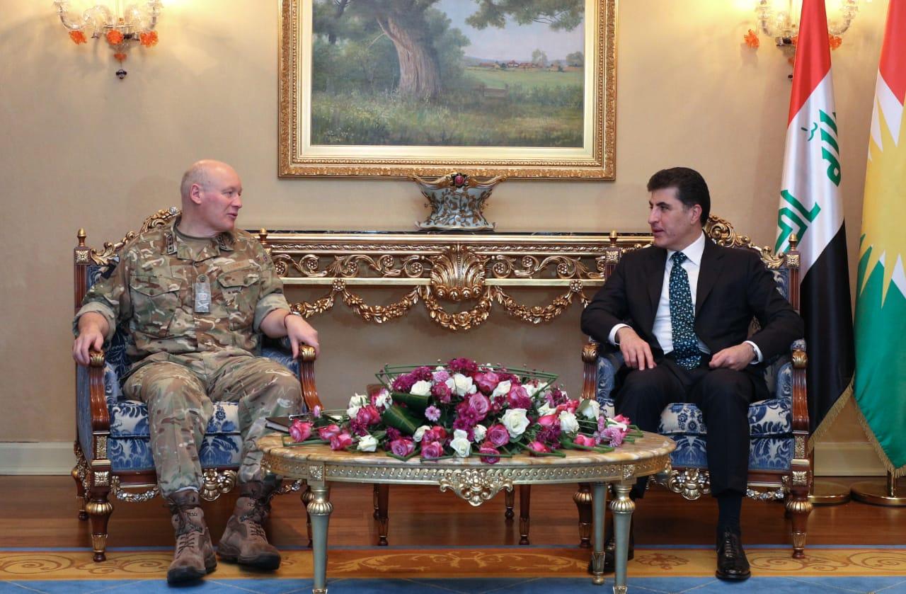 بريطانيا تتعهد بمواصلة عملية الاصلاح والتدريبات العسكرية لقوات البيشمركة