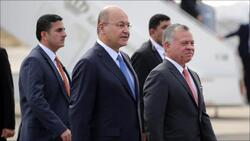 الرئيس العراقي يصل الاردن في زيارة غير معلنة وطائرته تحط بمطار عسكري