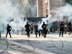 سقوط اول متظاهر قتيلا باحتجاجات بغداد
