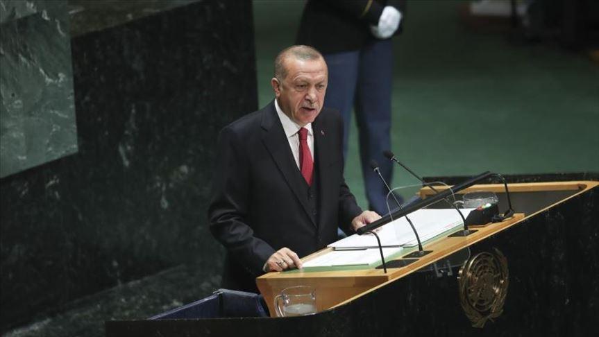 أردوغان من نيويورك: إرساء الاستقرار في سوريا سينعكس ايجابيا على العراق