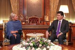 بارزاني وبلاسخارت يشددان على تشكيل حكومة عراقية وفق هذه الشروط