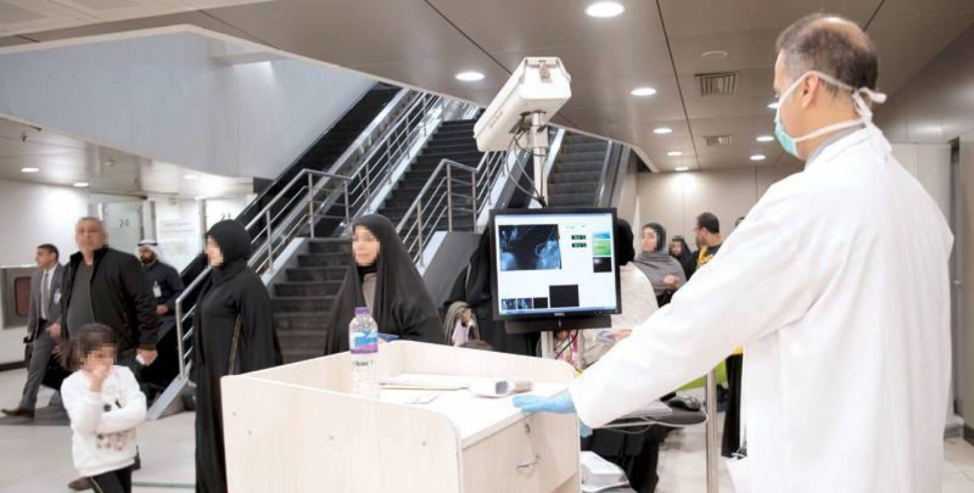 Corona virus detecting device arrives Kurdistan Region