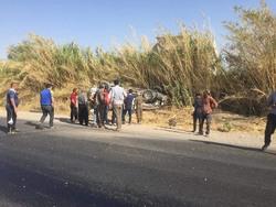 مصرع واصابة 11 شخصا بانقلاب اربع عجلات على طريق في اقليم كوردستان