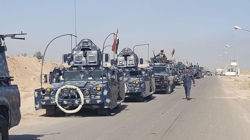 صورة .. السلطات العراقية تقبض على قاضٍ لداعش متنكر بزي النساء